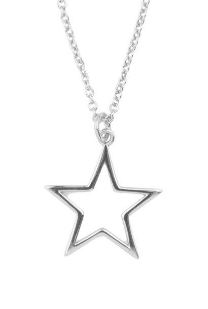 Ketting Souvenir Star Silver