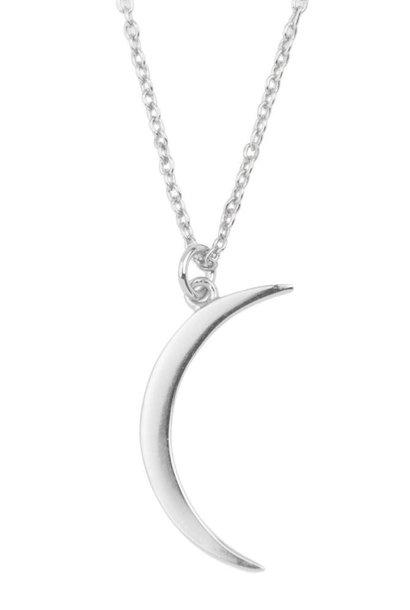 Ketting Souvenir Long moon Silver