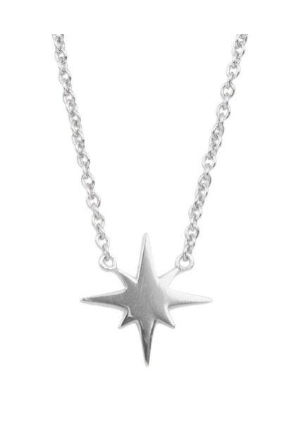 Ketting Souvenir Star burst Silver