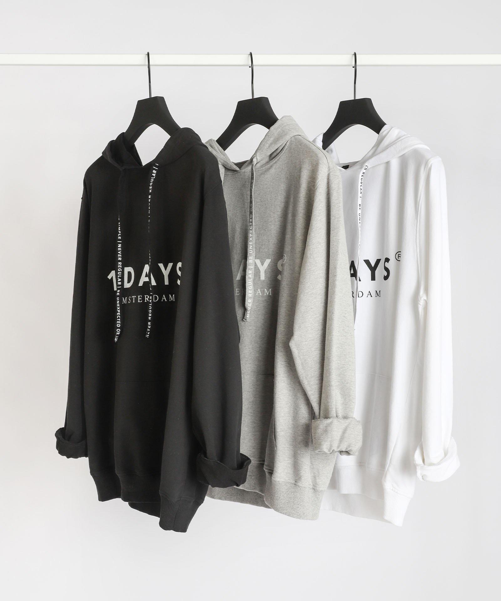 Trui the hoodie white NOOS-5