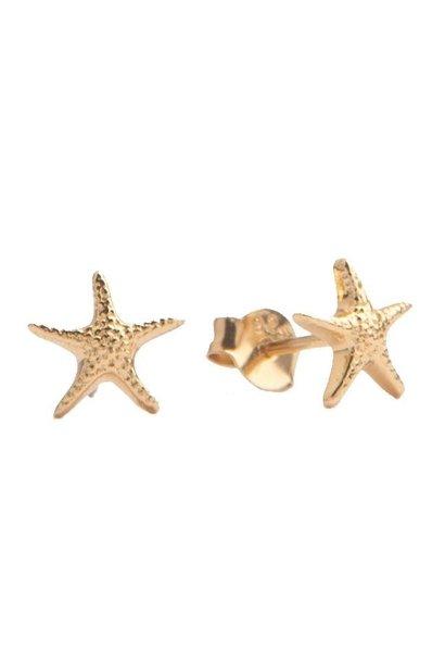 Oorring Parade Starfish Gold PER PAAR