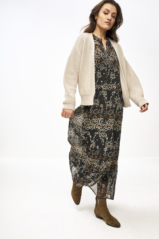 Vest emma cardigan Linen-4