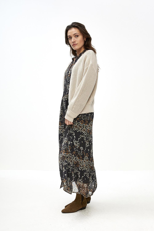 Vest emma cardigan Linen-8