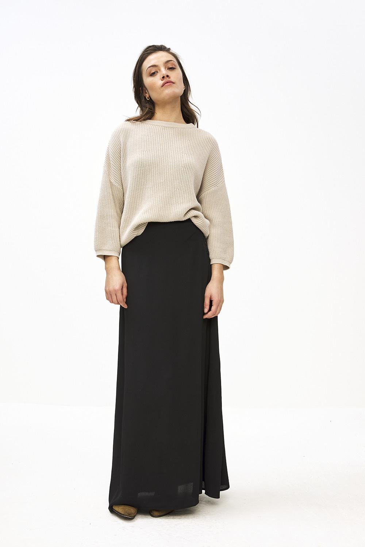 Trui milou O pullover Stone sand-2
