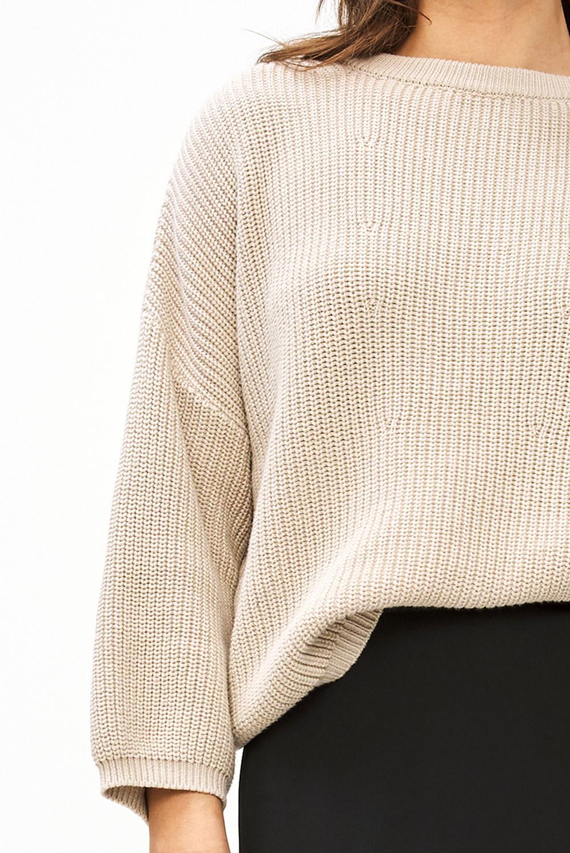 Trui milou O pullover Stone sand-6