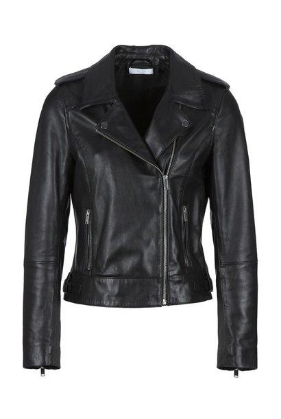 Jasje biker jacket black