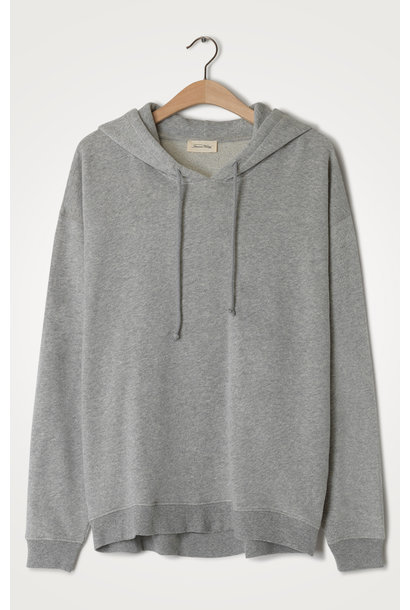 Trui Neaford sweater capuchon gris chine