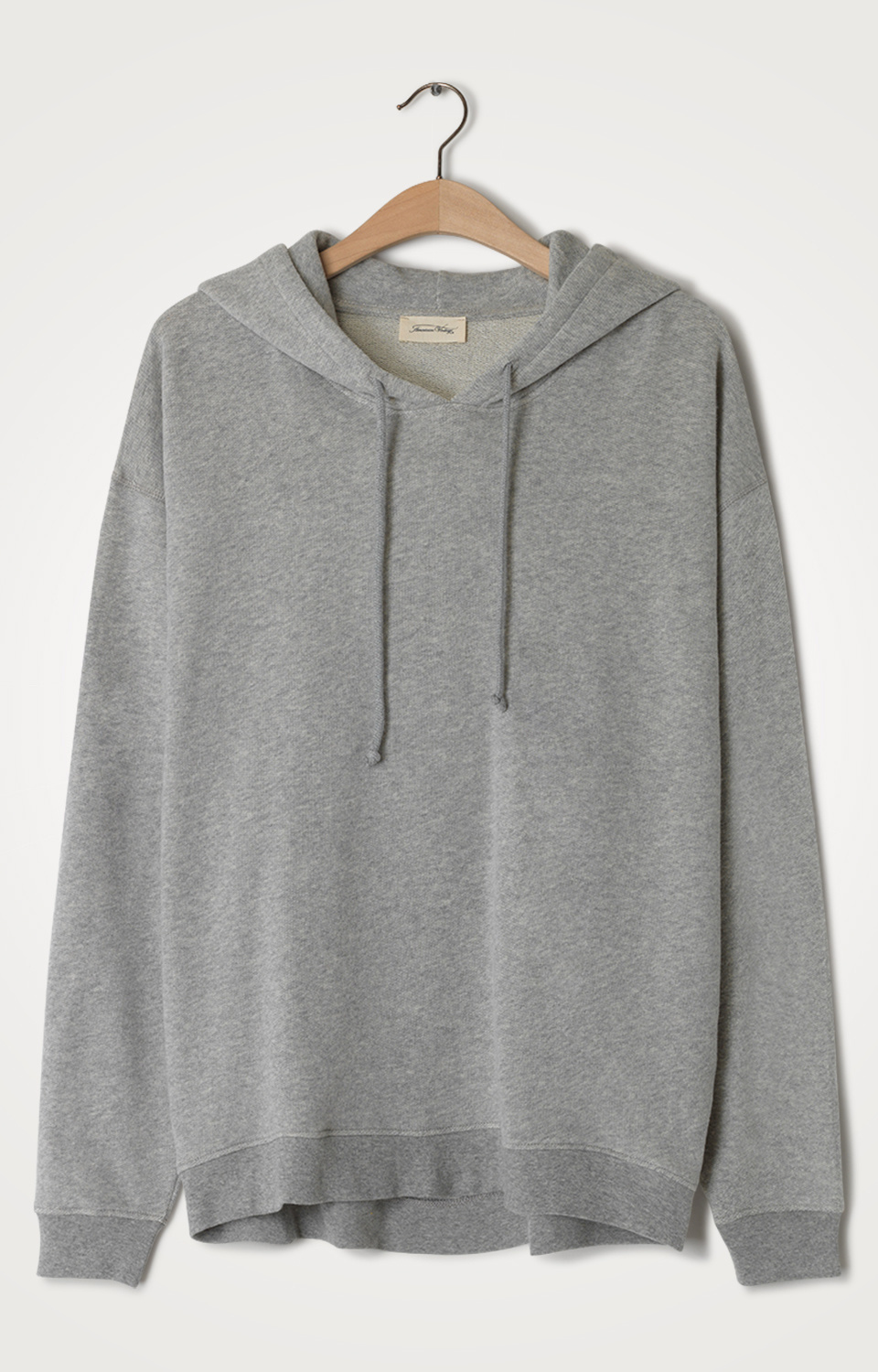 Trui Neaford sweater capuchon gris chine-1