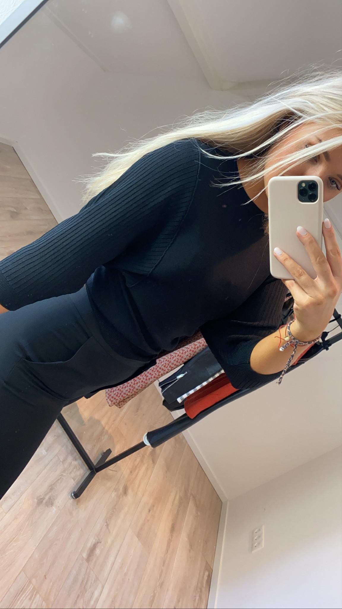 Trui gigi pullover black-7