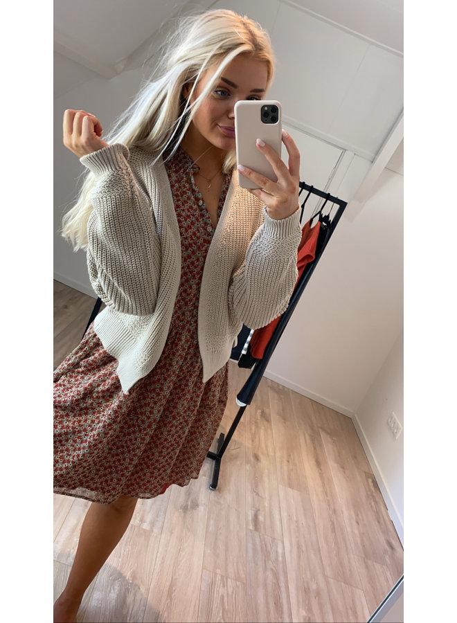Vest emma cardigan Linen
