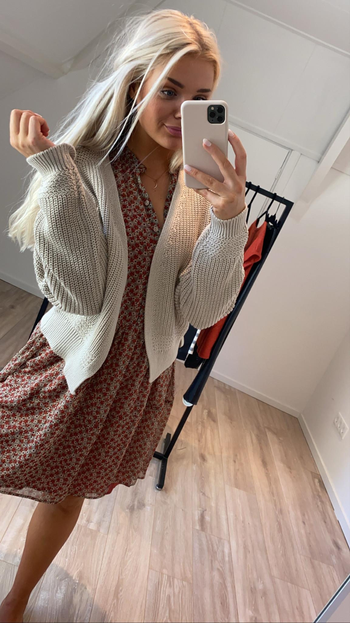 Vest emma cardigan Linen-3
