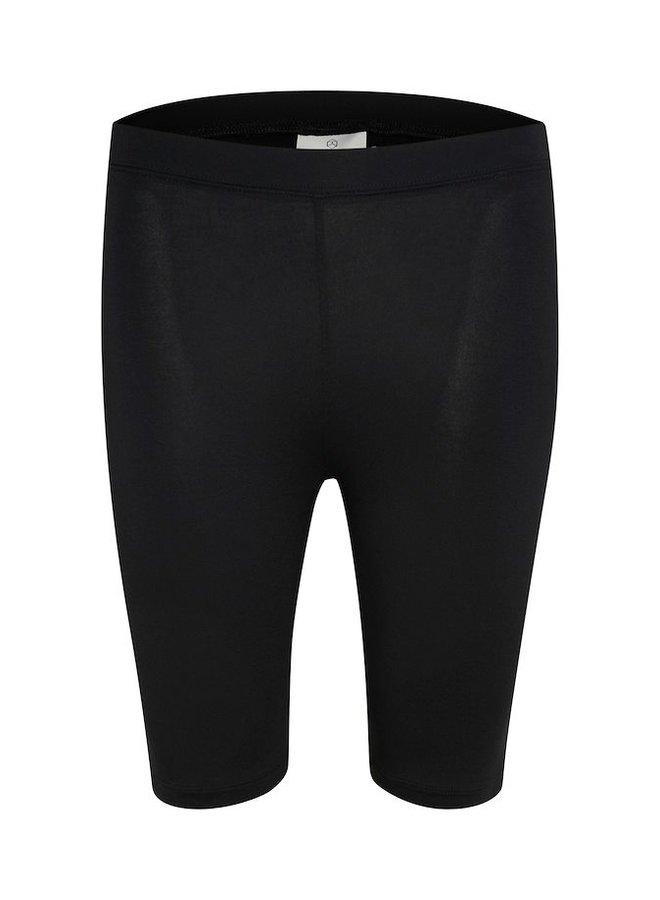 Broek KAselma Jersey Shorts Black Deep