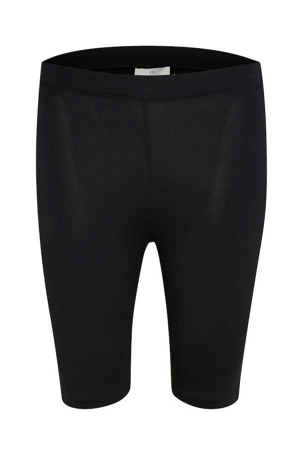 Broek KAselma Jersey Shorts Black Deep-1