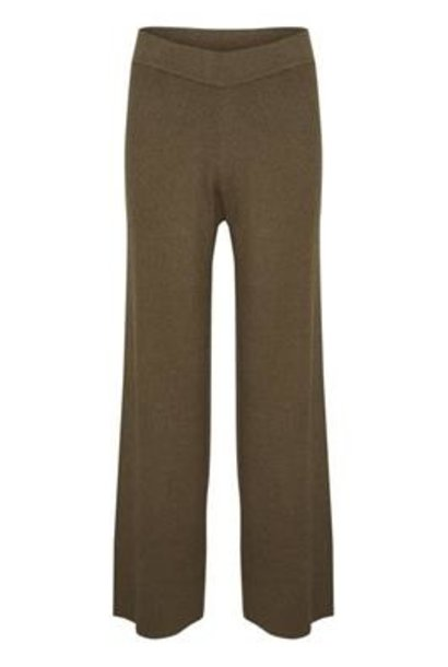 Broek CelestinaLN Knit Pants Chocolate Chip