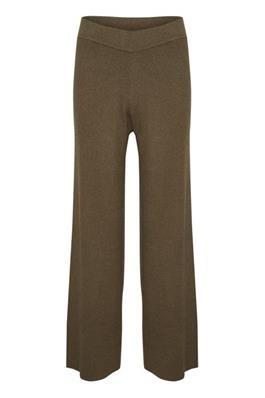 Broek CelestinaLN Knit Pants Chocolate Chip-1