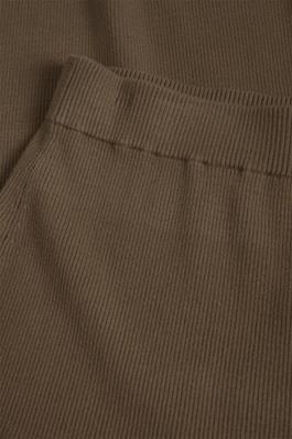 Broek CelestinaLN Knit Pants Chocolate Chip-3
