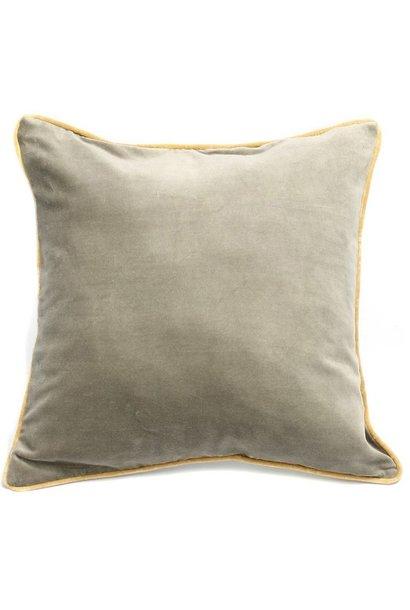 Kussen The Velvet Cushion Grey