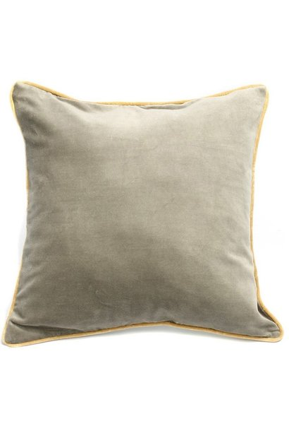 Kussen The Velvet Cushion Grey