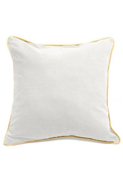 Kussen The Velvet Cushion White