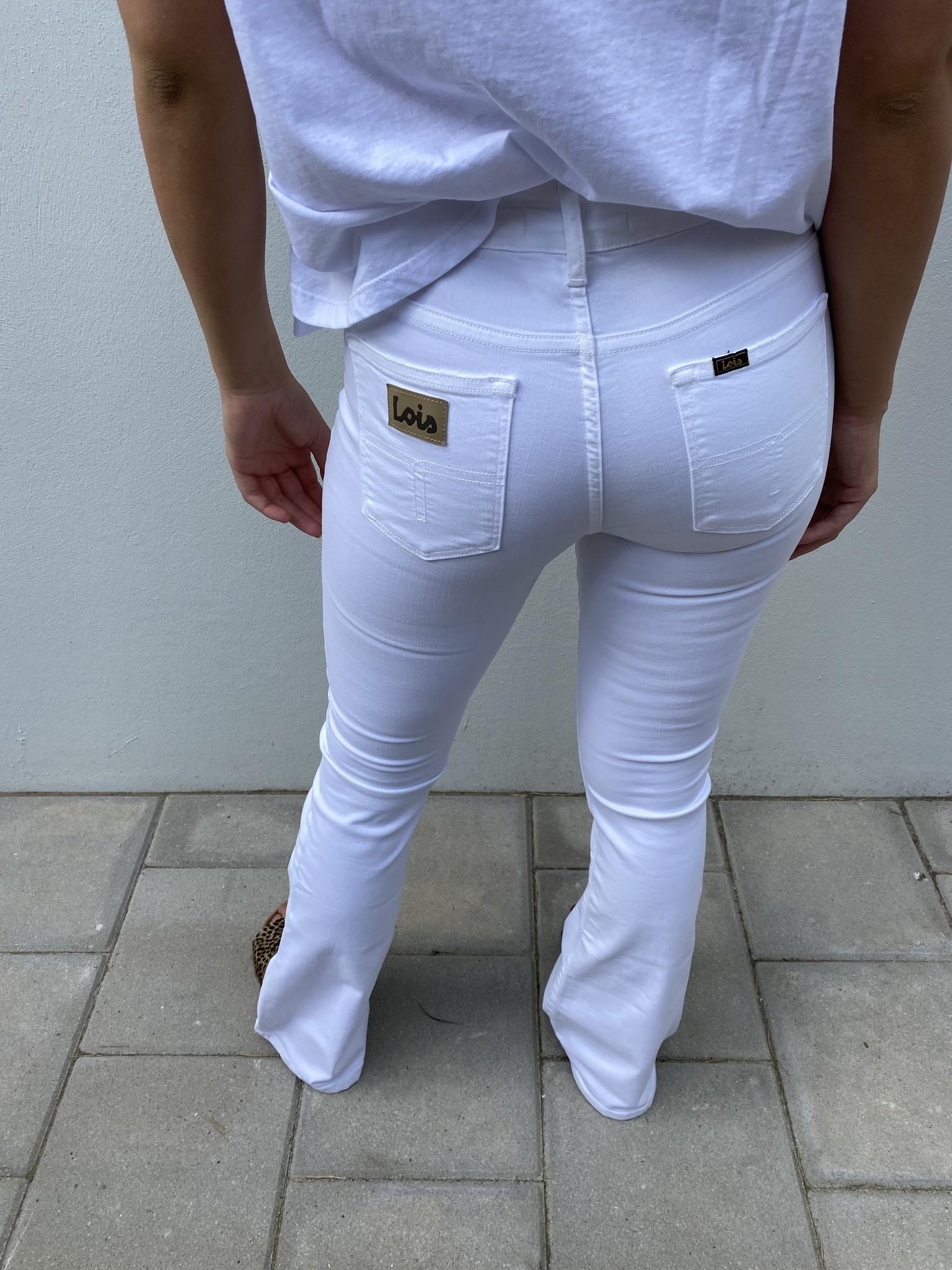 Jeans Megalia Blush lengte 34 white-3