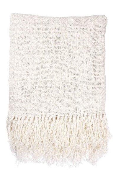 Woondeken linen throw white (130x170cm)