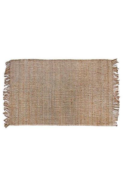Vloerkleed natural jute rug (120x180)