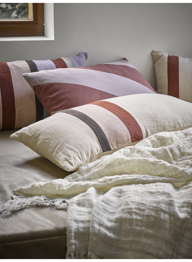 Bedsprei linen bedspread white 270x270