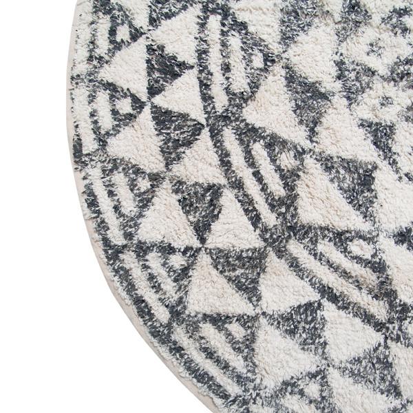 Badmat round bath mat 120cm-3