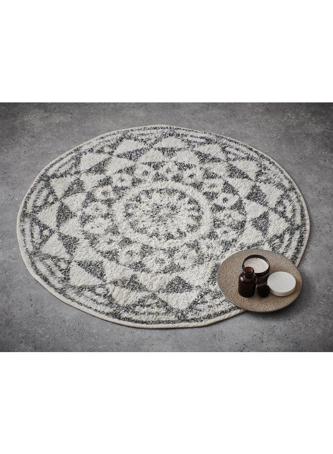 Badmat round bath mat 120cm