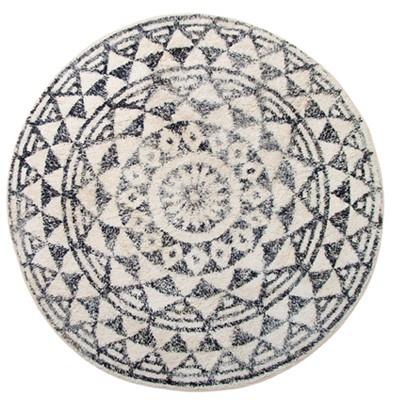 Badmat round bath mat 120cm-1