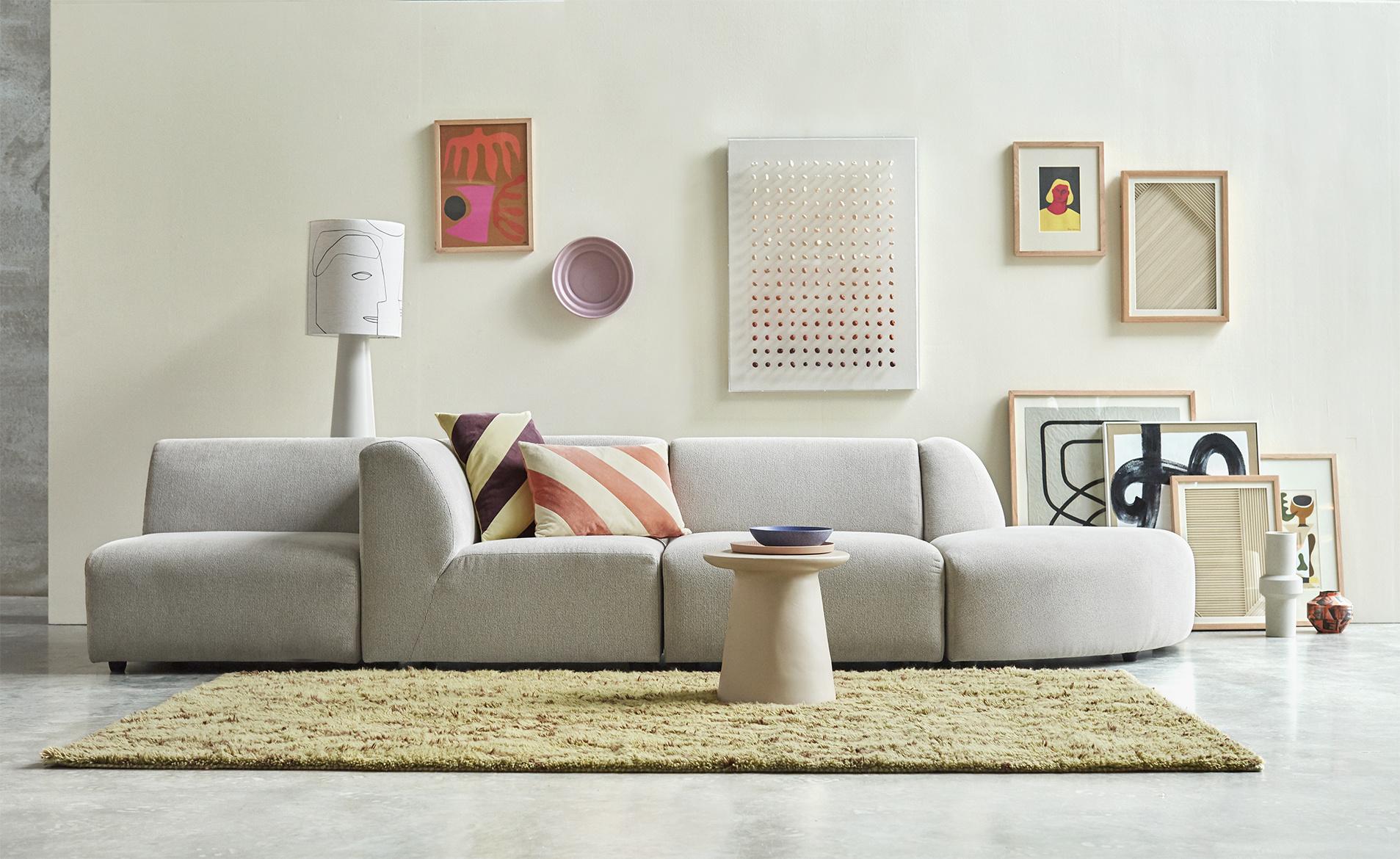 Wandschilderij layered paper art frame B-2
