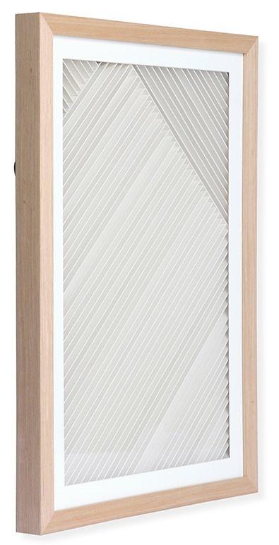 Wandschilderij layered paper art frame B-3