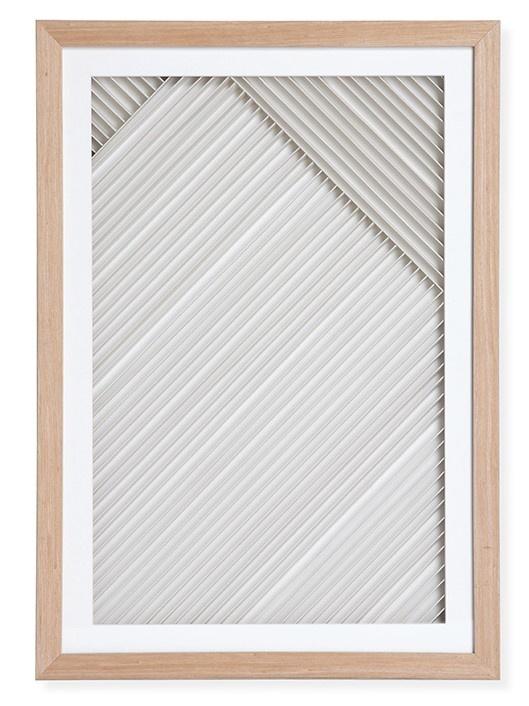 Wandschilderij layered paper art frame B-1