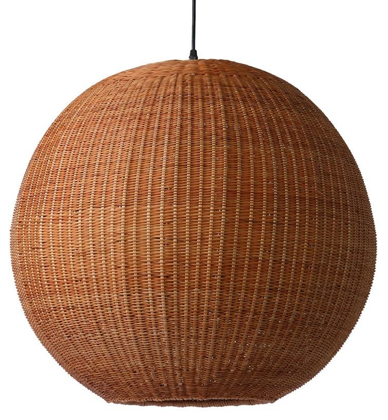 Hanglamp bamboo pendant ball-3