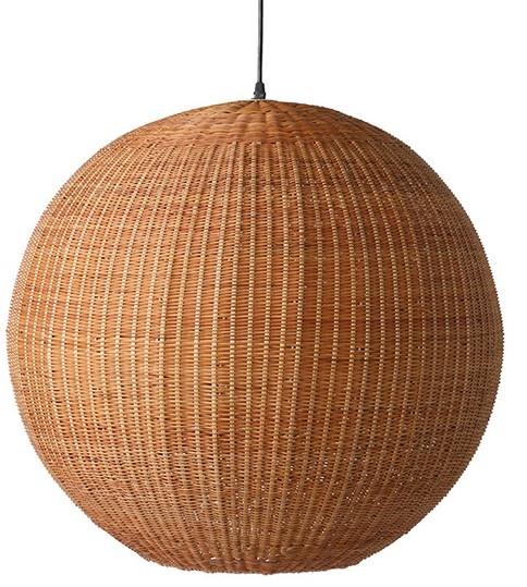 Hanglamp bamboo pendant ball-1