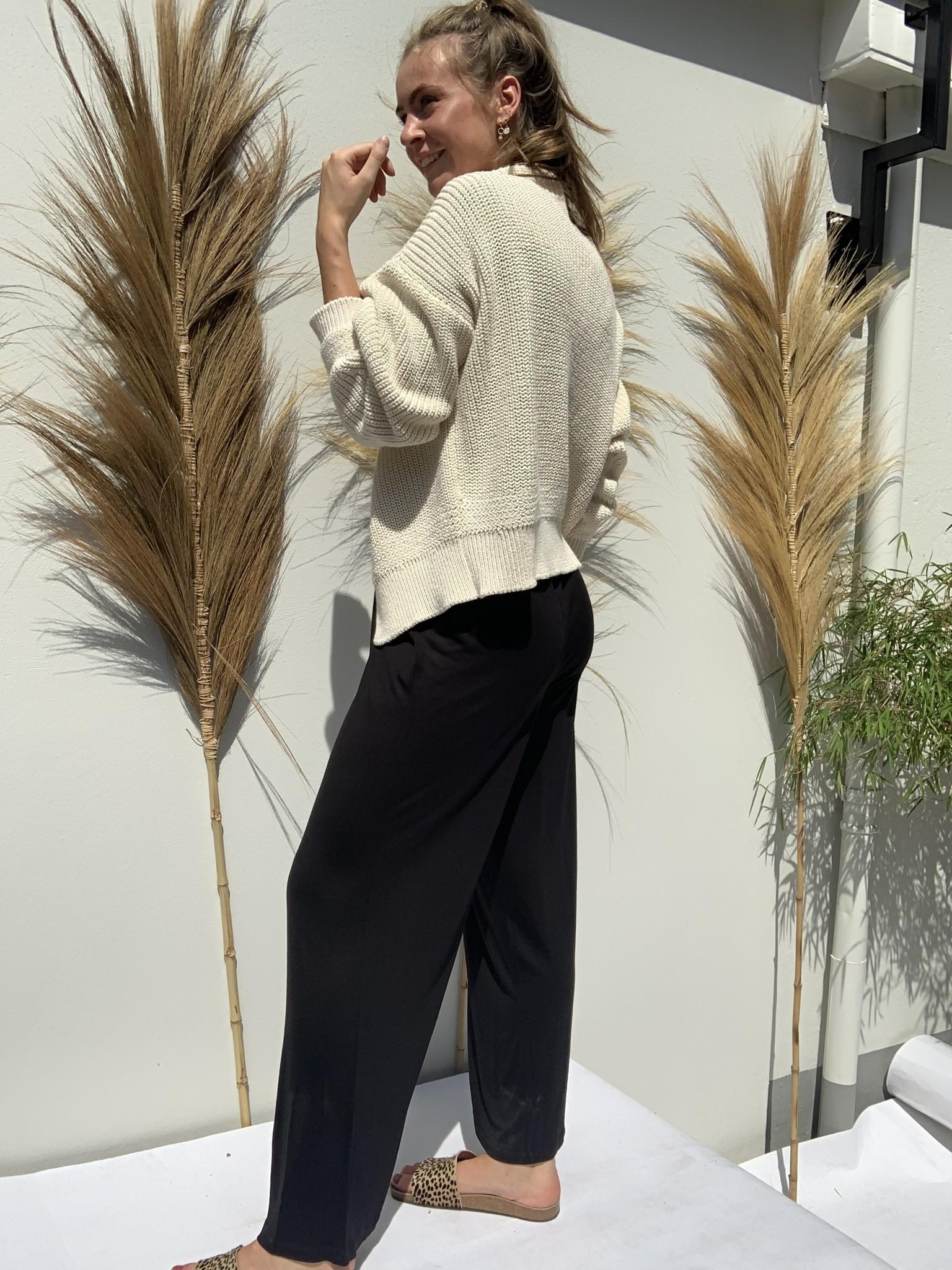 Vest emma cardigan Linen-5