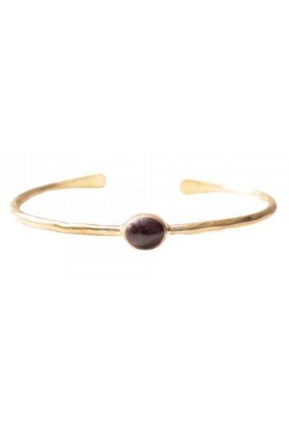 Armband Moonlight Garnet Gold bracelet