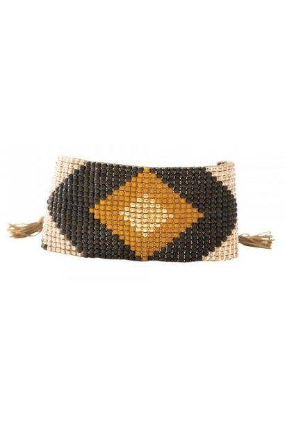 Armband Lovable Tiger Eye Gold