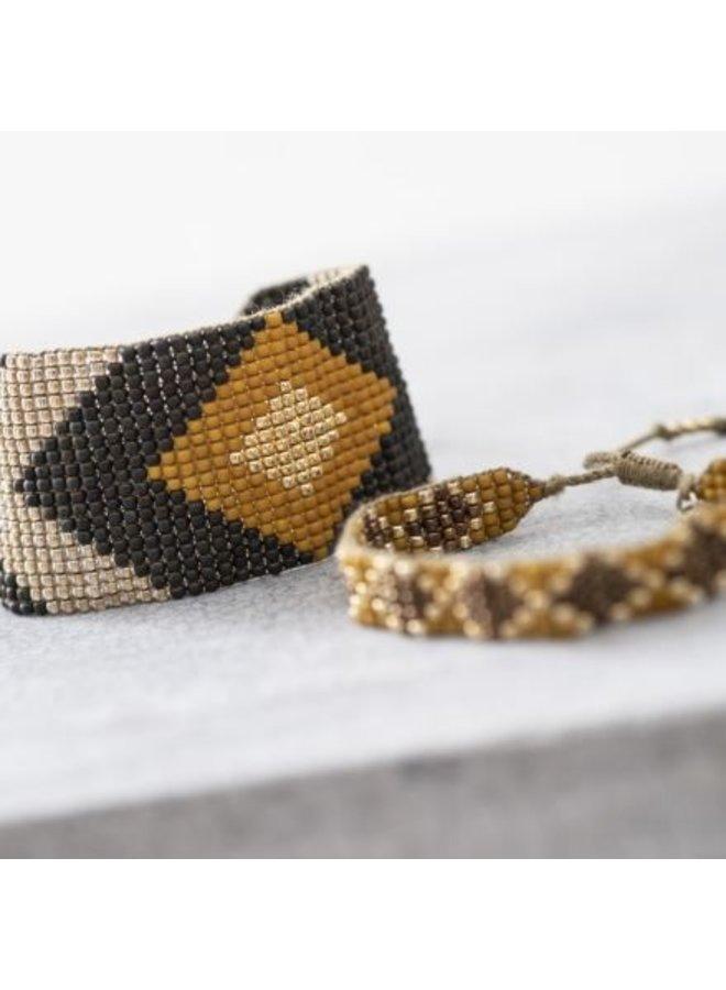 Armband Lovable Tiger Eye Gold