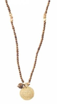 Ketting Truly Tiger Eye Tree Gold-1