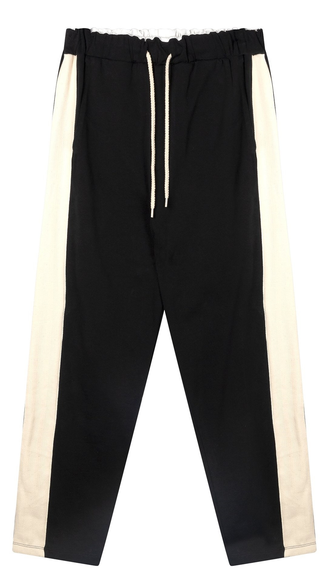 Broek straight pants smoking black-1