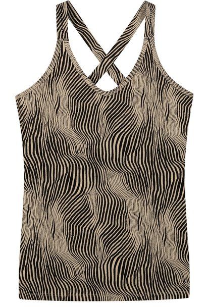 Top wrapper zebra safari
