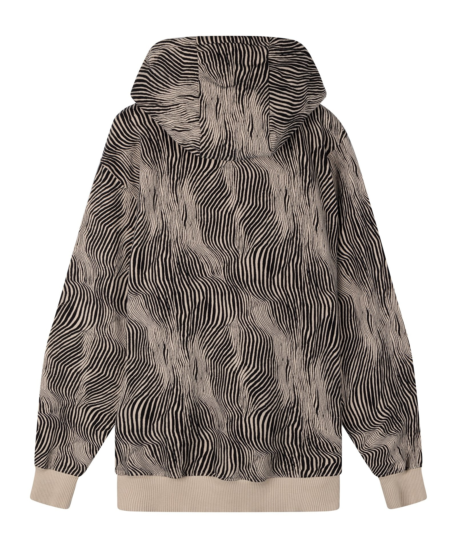 Trui hoodie zebra safari-4