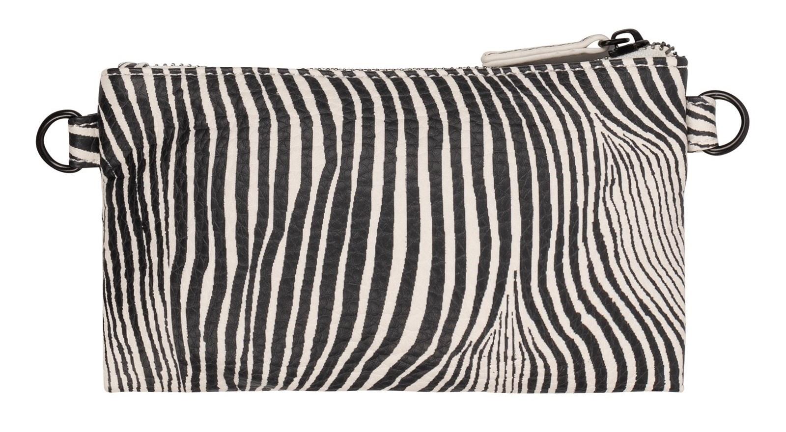 Tas mini pouch zebra safari-3