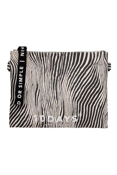 Tas make-up bag zebra safari