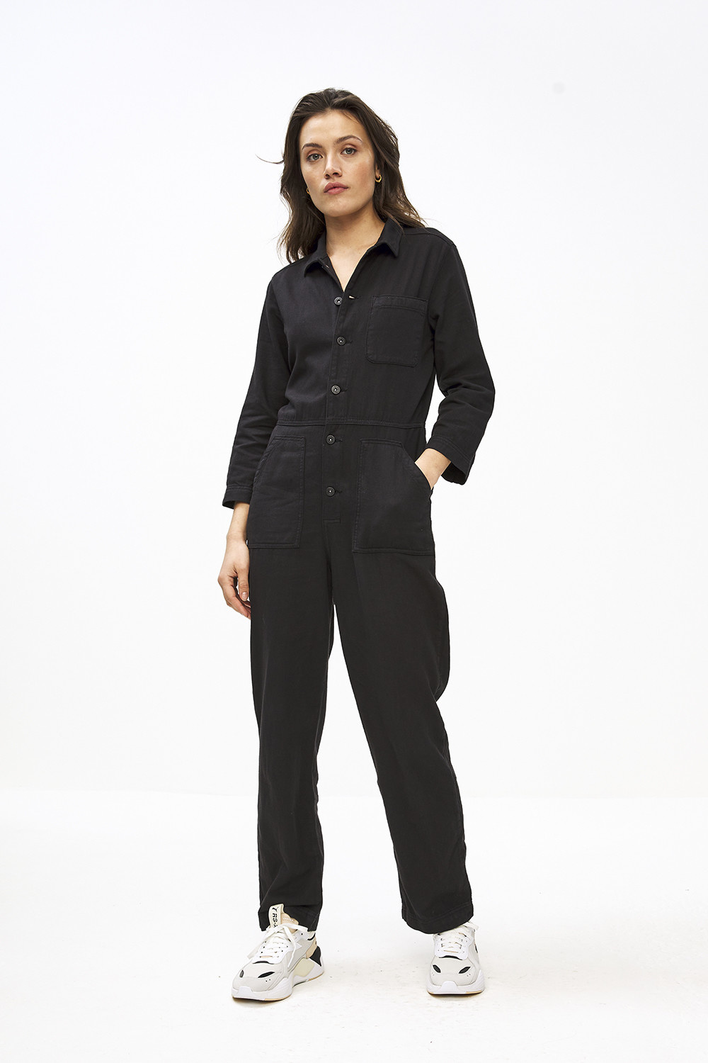 Jumpsuit Emma jet black-2
