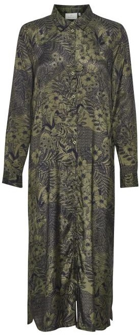 Jurk KAmonna Shirt Dress Grape Leaf-1
