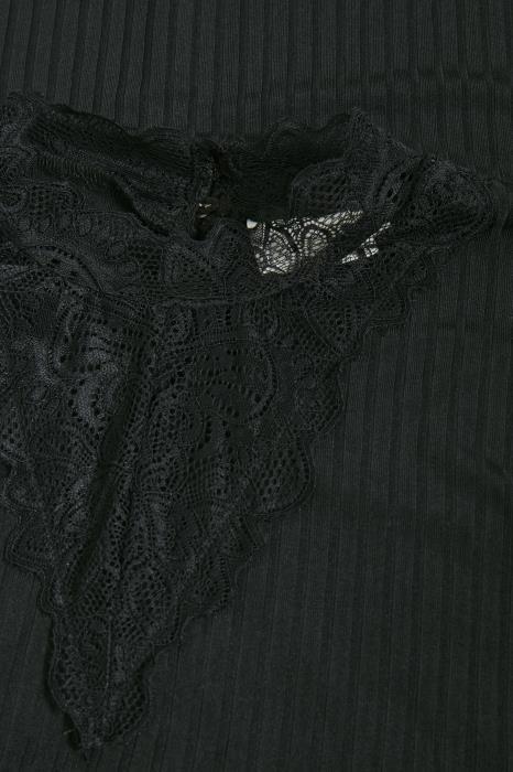 T-shirt Marta Turtleneck Black deep-2