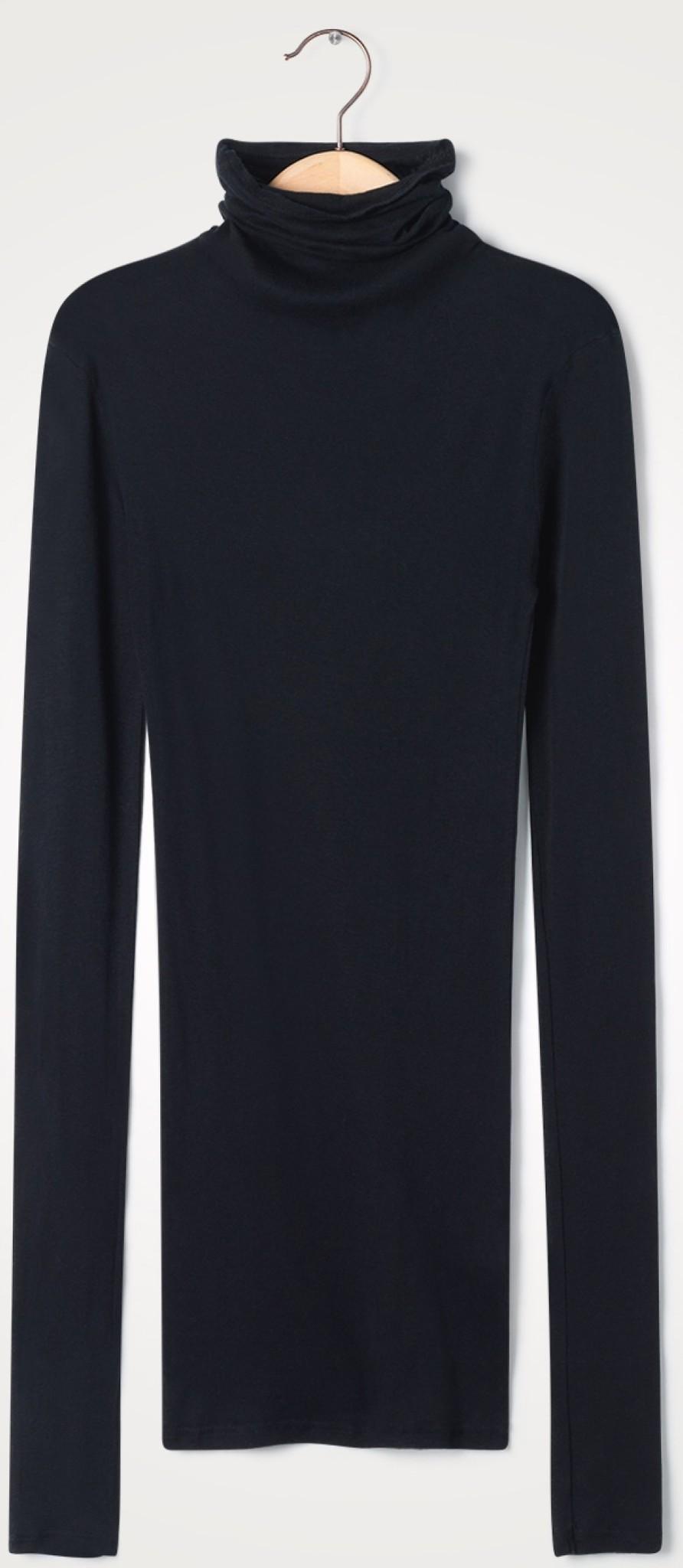 T-shirt Massachuesetss noir-1