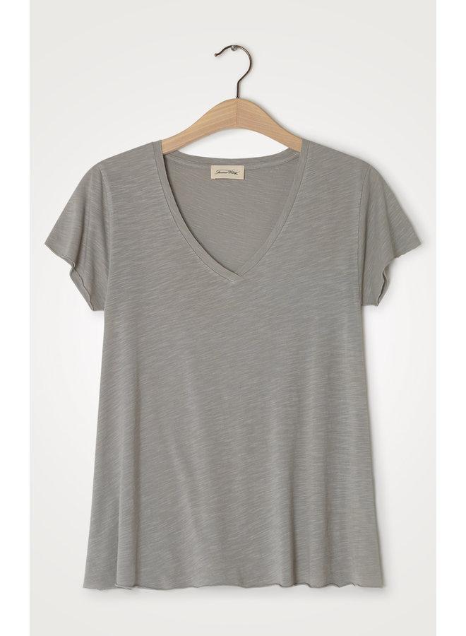 T-shirt Jacksonville V-hals Gres Vintage